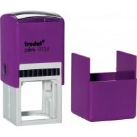 Оснастка для круглой печати Trodat, диам 40 мм, пластик, фиолетовый