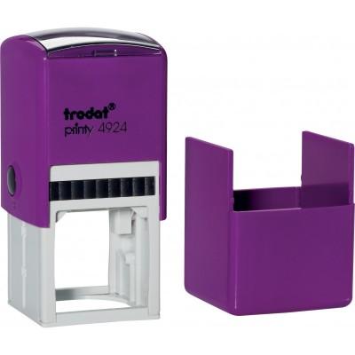 Оснащення для круглої печатки Trodat, діам 40 мм, пластик, фіолетовий