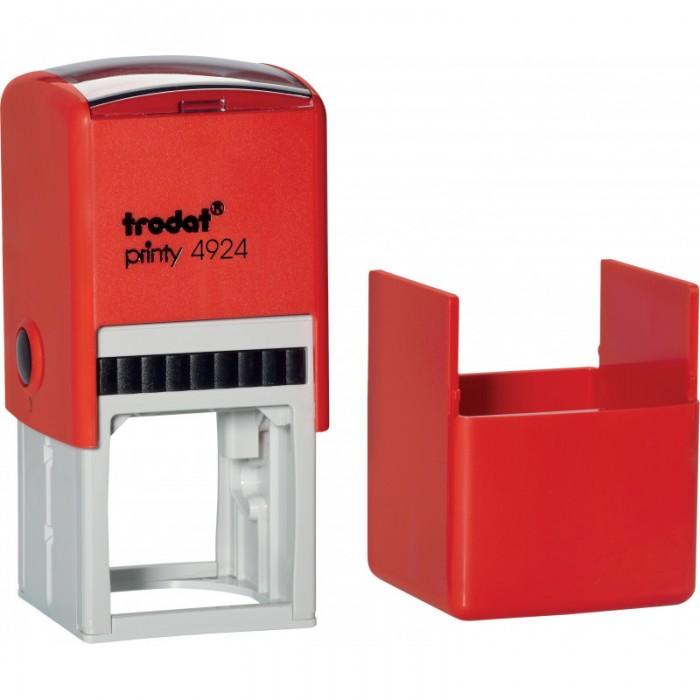 Оснащення для круглої печатки Trodat, діам 40 мм, пластик, червоний