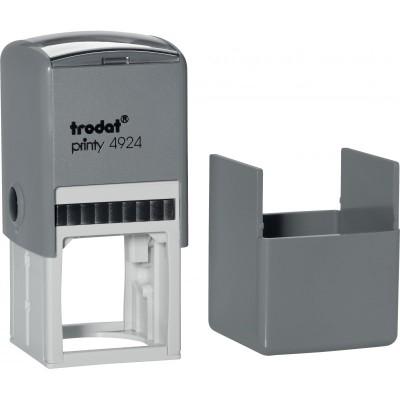 Оснащення для круглої печатки Trodat, діам 40 мм, пластик, сірий