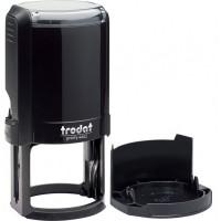 Оснастка для круглой печати Trodat 4642, диам 42 мм, пластик, черный