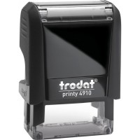 Оснащення для штампа Trodat 4910, 26х9 мм, пластик, чорний