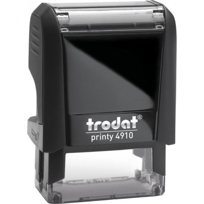 Оснастка для штампа Trodat 4910, 26х9 мм, пластик, черный