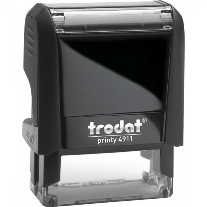 Оснащення для штампа Trodat 4911, 38х14 мм, пластик, чорний