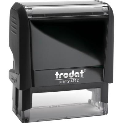 Оснастка для штампа Trodat 4912, 47х18 мм, пластик, черный