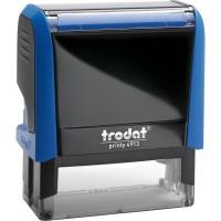 Оснастка для штампа Trodat 4913, 58х22 мм, пластик, синий