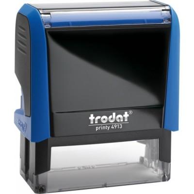 Оснащення до штампу Trodat 4913, 58х22 мм, пластик, синій