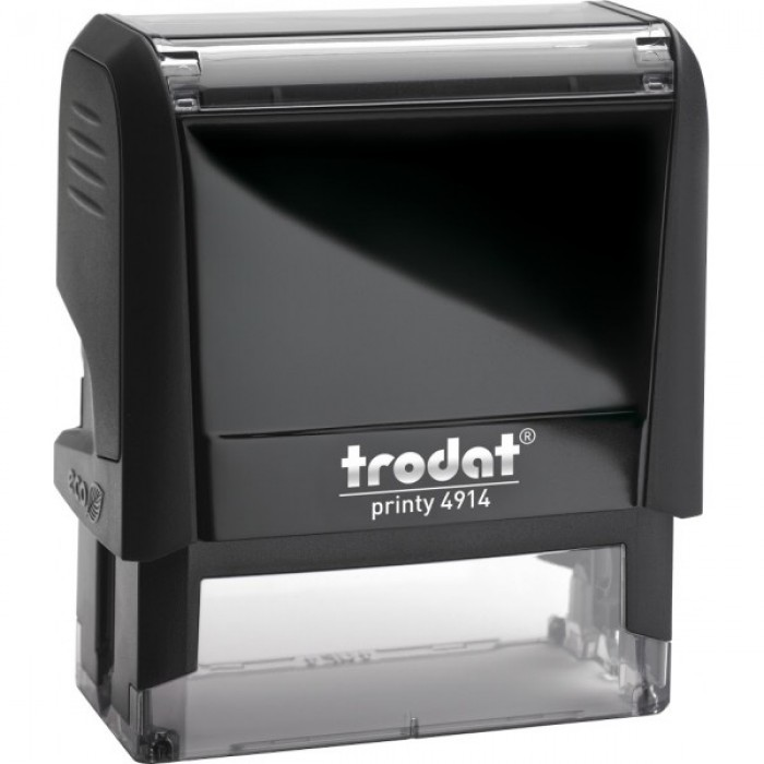 Оснащення для штампа Trodat 4914, 64х26 мм, пластик, чорний