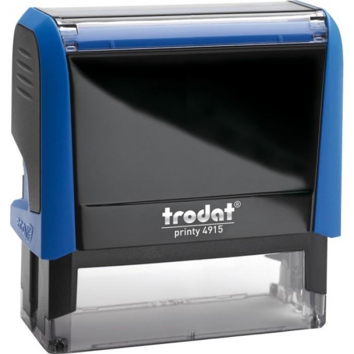 Оснащення для штампа Trodat 4915, 70х25 мм, пластик, синій