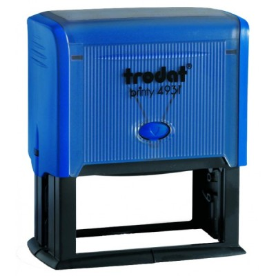 Оснащення для штампа Trodat 4931, 70х30 мм, пластик, синій