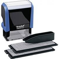 Самонаборный штамп 3-х строчный Trodat Printy 4911, укр, синий