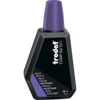 Штемпельная краска 28мл, фиолетовая