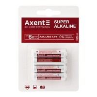 Батарейки Axent Super Alkaline AAА LR03 (4 шт) 5553-А