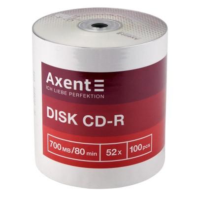Диск CD-R AXENT 700MB/ 80min 52x bulk 100шт. 8101-A