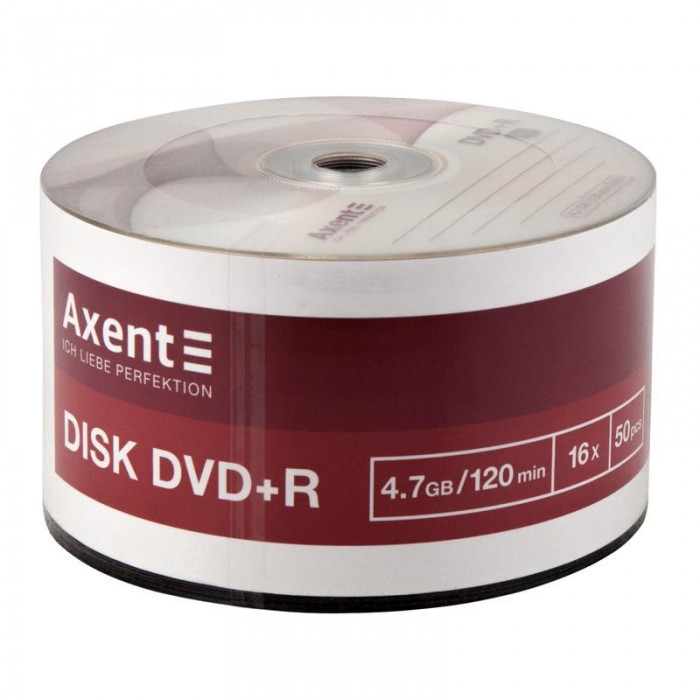 Диск DVD+R 4,7Gb/ 120min 16x bulk 50шт. 8108-A