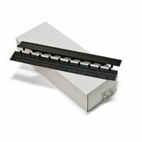 Пластини Press-binder 10мм. Чорні  50шт