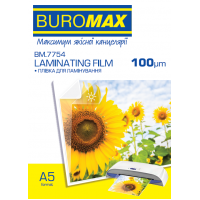 Плівка для ламінування А5 (154х216) 100мкм, 100 шт