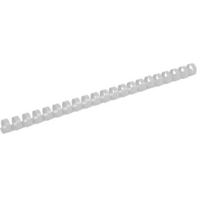 Пружини пластикові 14мм (100шт) білий 2914-21-A