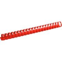 Пружини пластикові 25мм (50шт) червоний 2925-06-A