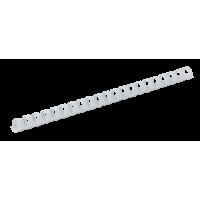 Пружины пластиковые 16мм (100шт) белый
