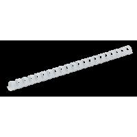 Пружини пластикові 28мм (50шт) білий