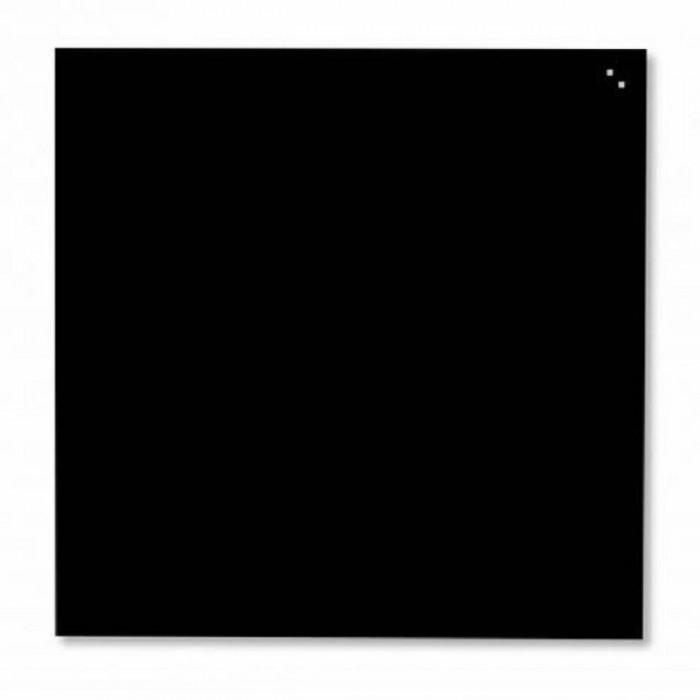 Дошка скляна, черная (45х45см)