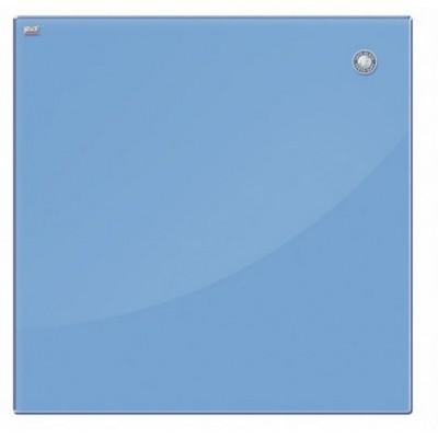 Дошка скляна, блакитна (45х45см)