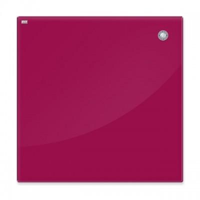 Доска стеклянная, красная (45х45см)