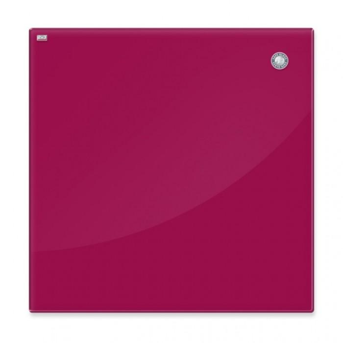 Дошка скляна, червона (45х45см)