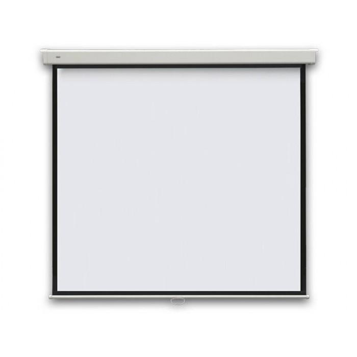 """Екран проекційний електричний настінний """"85"""" 150х150  (1:1)"""