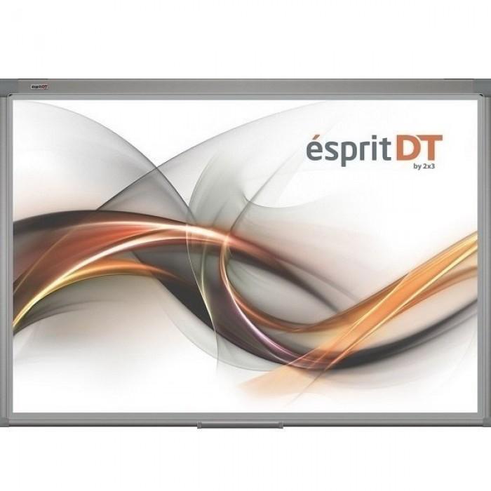 "Интерактивная доска, сенсорная  Esprit DUAL Touch (два касания) ""50"" 111,7х81,5"
