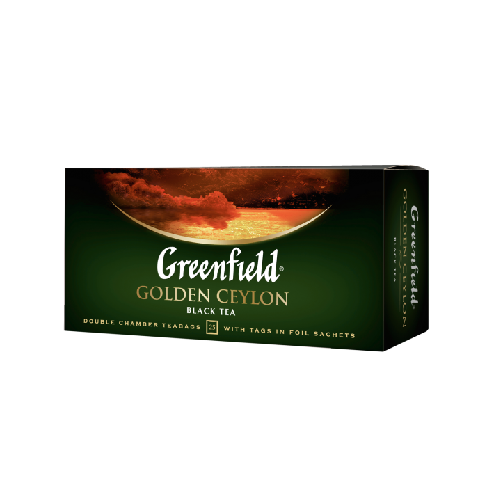 Чай Golden Ceylon, (2грх25п) черный