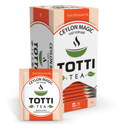 Чай Totti Tea Магія Цейлона (2грх25п) чорний