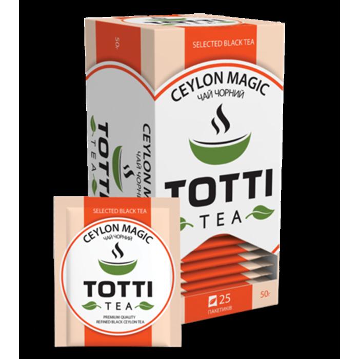 Чай Totti Tea Магия Цейлона (2грх25п) черный