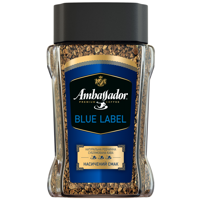 Кофе растворимый Ambassador Blue Label 95г.