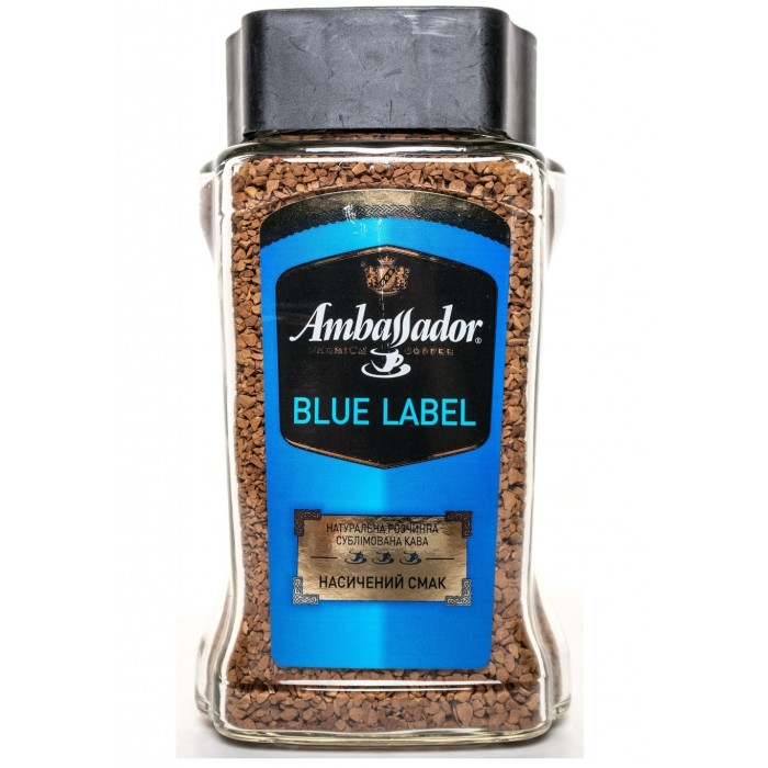 Кофе растворимый Ambassador Blue Label 190г.