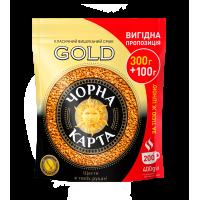 Кава розчинна Черная Карта Gold 400г.