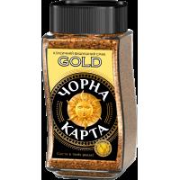 Кофе растворимый Черная Карта Gold 190г.