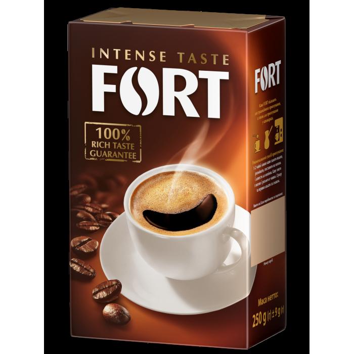 Кофе молотый Fort брикет 250г.