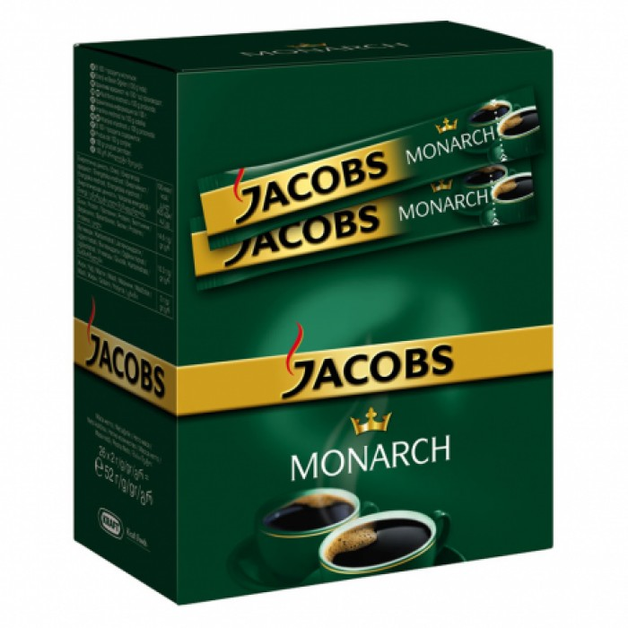 Кофе растворимый Jacobs Monarch 1,8г/26шт