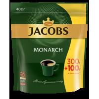 Кофе растворимый Jacobs Monarch, 400гр,  пакет
