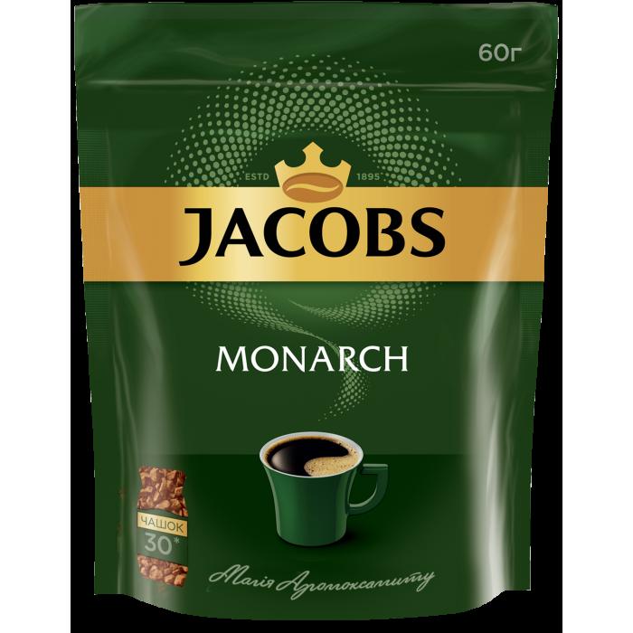 Кофе растворимый Jacobs Monarch 60г. пакет