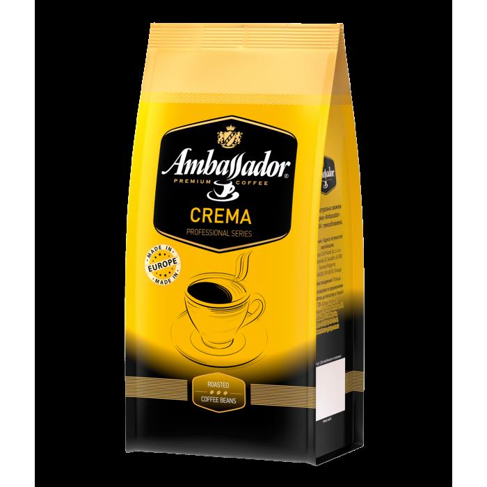 Кава в зернах Ambassador Crema 1кг.