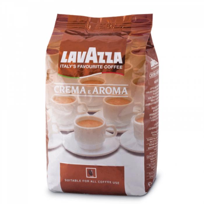 Кава в зернах Lavazza e Aroma (коричнева упак.) 1кг.