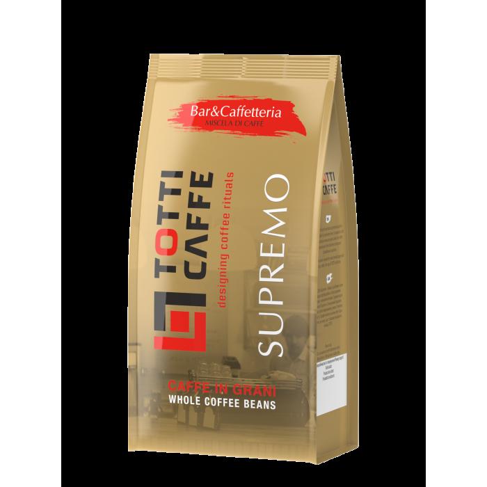 Кава в зернах Totti Caffe Supremo 1кг.