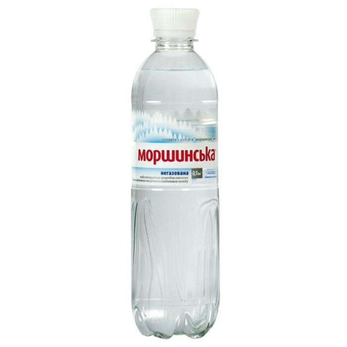Вода минеральная Моршинская негазированная 0,5 л.