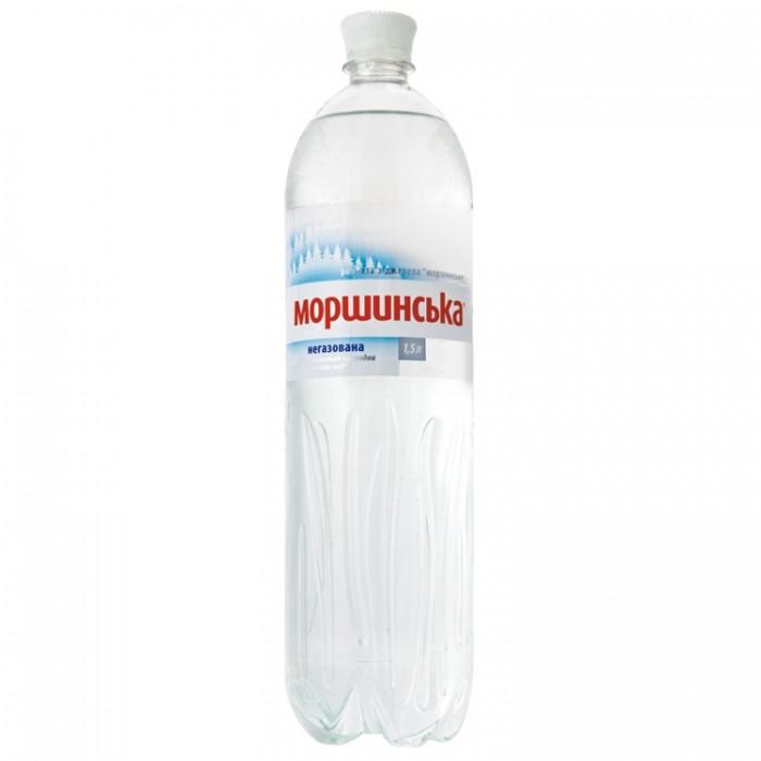Вода минеральная Моршинская негазировання 1,5 л, ПЭТ