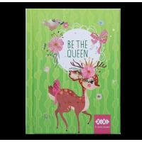 Блокнот Be The Queen А6, 64л. (салатовый) ZB.12713-15
