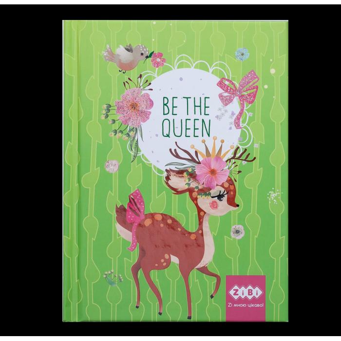 Блокнот Be The Queen А6, 64арк. (салатовий) ZB.12713-15