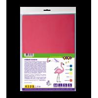 Фоамиран цветной самоклеящийся KIDS Line А4, 5л. 5цв. 2мм.